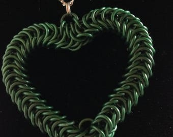 Green My Heart Necklace