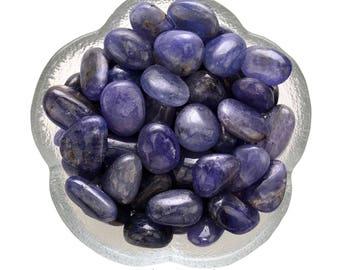 1 Small TANZANITE Tumbled Stone Genuine Tanzanite Healing Crystal and Stone Semi Precious Stone for Jewelry Crafting  #TT01
