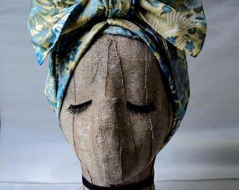 Bird Print Headwrap
