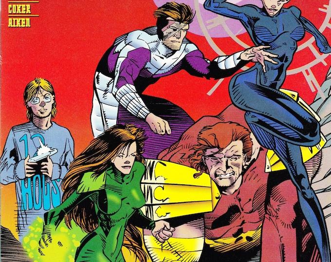 Vintage Xenobrood Comic Book, DC Comics, No 0, October 1994