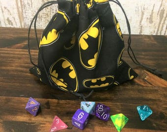 Batman Dice Bag, Dungeons and Dragons, D&D, DnD