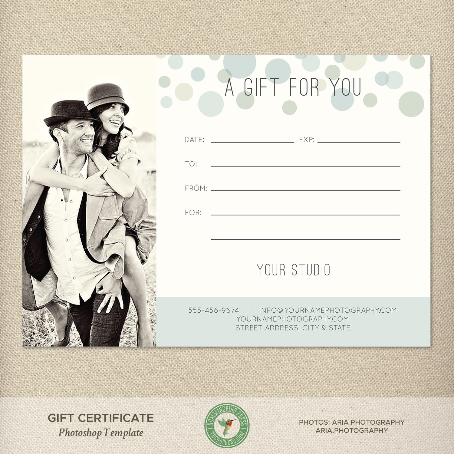 5x7 digital or print gift certificate gift card photography zoom yelopaper Gallery