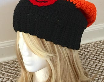 READY TO SHIP Naruto Shippuden Inspired Slouchy Hat - Women/Teens - Cosplay, Otaku