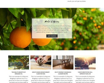 Essential Pro Wordpress Theme | Installation and Customization Included | WordPress Theme, WordPress Template, Responsive WordPress Theme