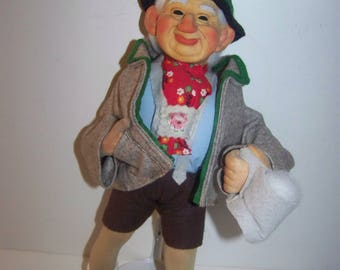 Alpine doll vintage Steiff, no marking or tag