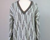 Shetland Wool Sweater / V...