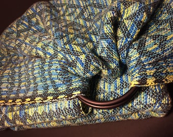 """Handwoven Ring Sling """"Aposematic"""""""