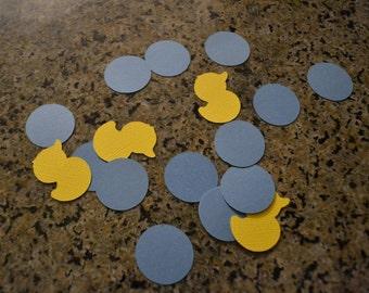 Duck & Bubble Confetti/Duck Confetti/Bubble Confetti/Confetti/Table Scatter/Baby Confetti/Baby Shower Confetti