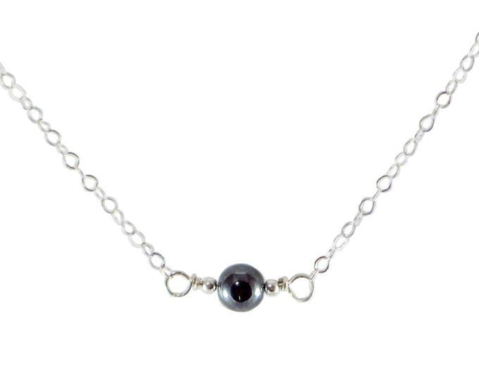 L'amour Necklace - Hematite
