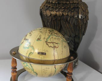 Map jewelry box etsy vintage metal old world globe jewelry box world map jewelry box vintage globe jewelry gumiabroncs Image collections
