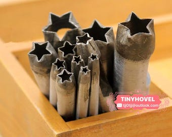 3mm-30mm Star hole puncher-hole maker for leather crafts-leather tool-hole punch-craft punch TP0043
