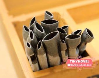 4mm-27.5mm Ellipse hole puncher-hole maker for leather crafts-leather tool-hole punch-craft punch TP0048