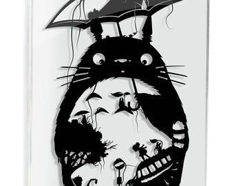 My Neighbor Totoro Art Studio Ghibli Miyazaki Papercut Anime Mei Satsuki Catbus Soot Sprite Forest Spirit Geek Gift Ghibli Home Decor