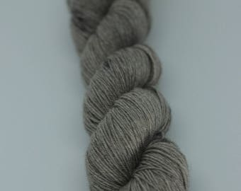 Yak/Merino Fingering - Soot Stained