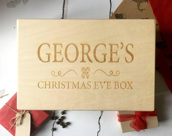 Personalised Christmas Eve Box - Children's Christmas Eve Box - Christmas - Children' s Gift - Xmas Eve - Adults Christmas Eve Box
