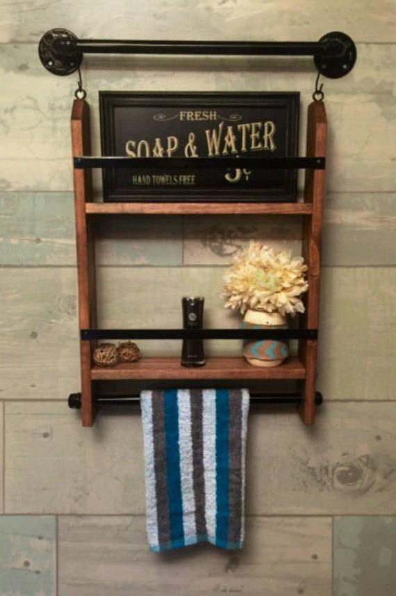 tag re de salle de bains plateau serviette de salle de bain. Black Bedroom Furniture Sets. Home Design Ideas