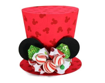 Mickey Mouse, Christmas decoration, Mickey's Magical Christmas, New monogram option