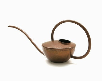 Copper Watering Can | Bauhaus Mid Century Design