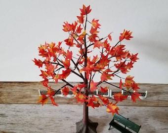 AUTUMN TREE DEPT 56 Fall Leaves