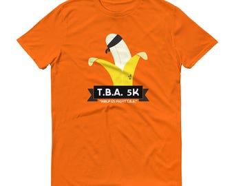 T.B.A 5K Runner - Arrested Development Bluth TV Show Pop-Culture - Short-Sleeve T-Shirt