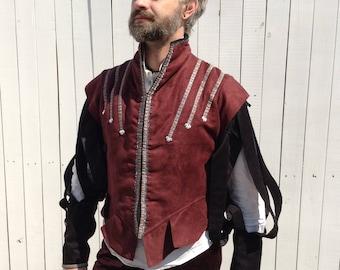 Renaissance Doublet, Nobleman Outfit, Prince Costume