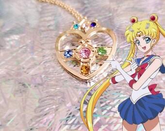 Sailor Moon Brooch Necklace