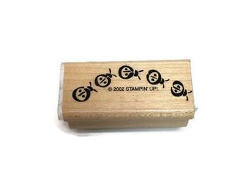 Insect Rubber Stamp Ladybugs Craft Stamp Wood Block Beetles Craft Supply Paper Stamping Kids Crafts DIY