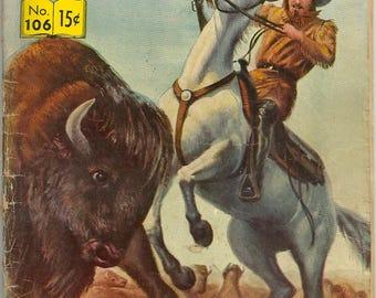 Classics Illustrated N0. 106 Buffalo Bill Comic Book