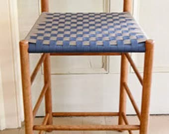 Shaker Style Low Back Counter Stool