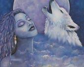 Art Print Spirit Wolf Son...