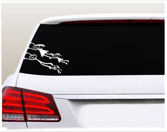 Stick Figure Family Decals Etsy - Unique family car decals
