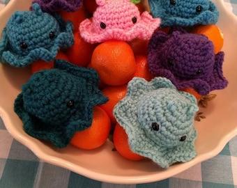 Crochet Dumbo Octopus Plush