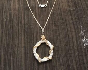 Silver Circle Pendant
