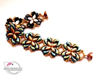 English pattern for the bracelet For Your Eyes Only