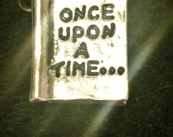 Book Charm, Fairy Tale Charm, Once Upon A Time, Jewelry