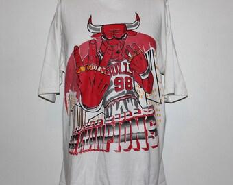 Vintage Chicago Bulls Benny The Bull NBA T-Shirt XL