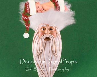Christmas, digital background, digital backdrop, digital prop, background, backdrop, prop, photography, scrapbooking, newborn, baby, Santa,