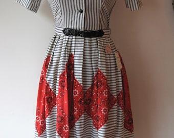 1950s Kerchief Dress
