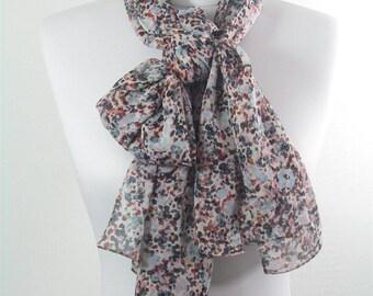 Women Chiffon Scarf Shawl Spring Summer Scarf Fashion Accessories Infinity Scarf Circle Scarf Loop Scarf 6