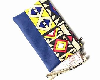 clutch wristlet, african bag, clutch purse, purses for women, clutch bag, evening bag, clutch bags for women, african purse, iphone wristlet