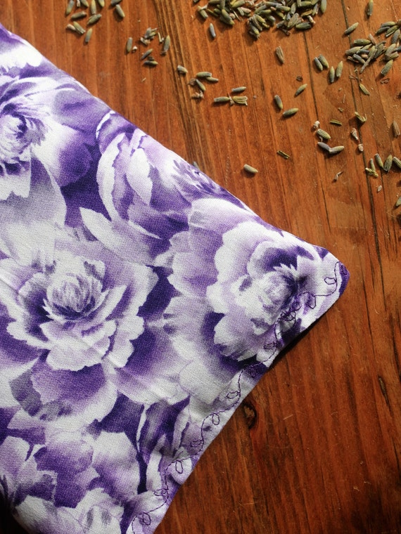 Rice bag hot/cold, floral, heating pack, cotton fabric rice bag