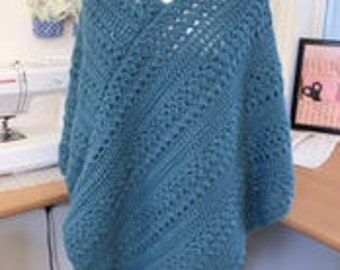 Connected Spiral Poncho Pattern pdf