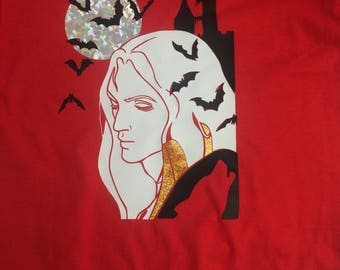 Alucard Castlevania Ladies T-shirt