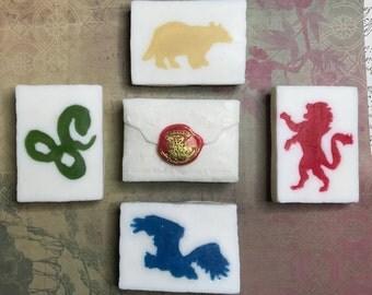 Hogwarts Letter Sorting Hat Soap