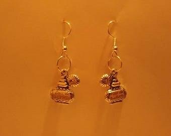 Perfume Bottle Earrings or Necklace