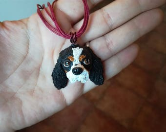 Your puppy/kitty in necklace or keychain