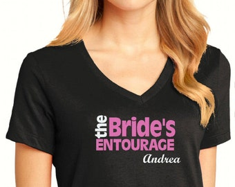 Bridesmaids T-shirt, Bachelorette T-shirt, Bridal Party Tanks, Wedding Party Tanks, Girls Weekend Shirt, Personalized T-Shirt, Bridal Shirts
