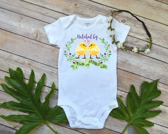 Rainbow Baby shirt, Hatched by Two Chicks, LGBT Baby, Two Mommies, Pride Baby, Two Moms better than One, Baby Shower Gift, Newborn Baby Gift