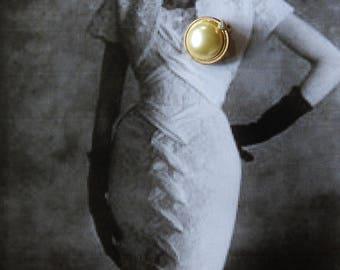 Vintage Pierre Balmain Earrings Clip On Earrings