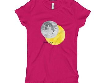 Girl's Child's Eclipse 2017 Souvenir T-Shirt